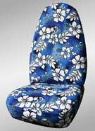 Shear Comfort has over 30 different prints of Hawaiian seat covers