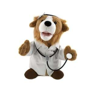 11 Tall Dr. Phil Goode Animated Plush Collie Puppy Dog  Toys & Games