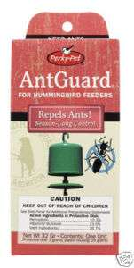 NEW PERKY PET Hummingbird Feeder Ant Guard #242