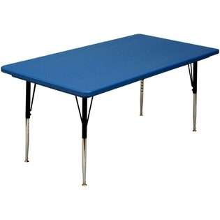 Blow Molded Adjustable Height Activity Table by Correll