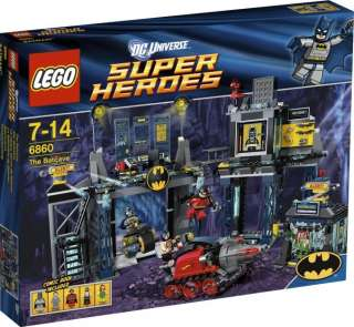 LEGO 6860   SUPER HEROES   BATMAN & ROBIN   THE BATCAVE   DC UNIVERSE
