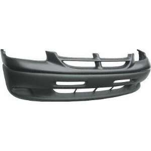 96 00 DODGE GRAND CARAVAN FRONT BUMPER COVER VAN, LE Model