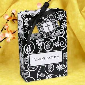 White Cross   Classic Personalized Baptism Favor Boxes Toys & Games