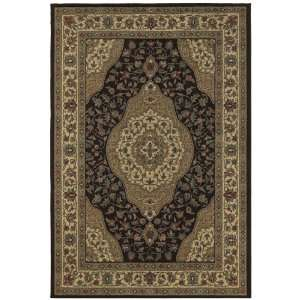 Concepts Collection Barcelona Brown Traditional Floral Area Rug