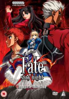 Fate / Stay Night  Complete Collection   New DVD 5060067004118