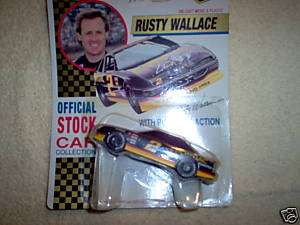 RUSTY WALLACE #2 1/43 PONTIAC GRAND PRIX