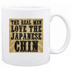 New  The Real Men Love The Japanese Chin  Mug Dog