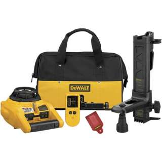New DeWalt DW074KD Self Leveling Rotary Laser   Int/Ext 028877590707