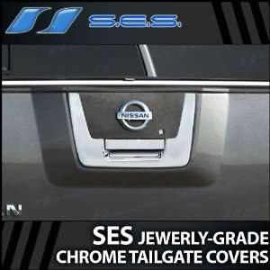 2004 2012 Nissan Titan SES Chrome Tailgate Handle Cover