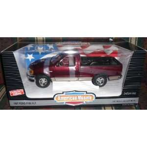 American Muscle 1997 Ford F150 XLT Die Cast Truck 118 Scale