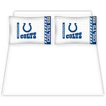 Indianapolis Colts Bedding Sets   Buy NFL Sheets and Pillows at