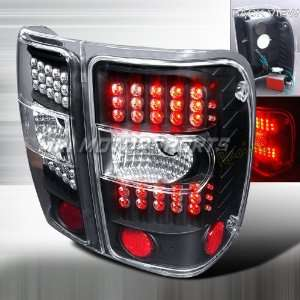 FORD RANGER G2 LED TAIL LIGHTS BLACK Automotive