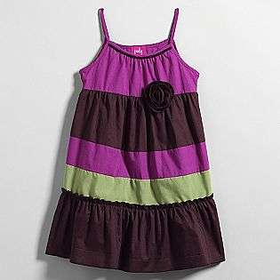 Solid Color Block Tier Dress  Pinky Clothing Girls Dresses & Skirts