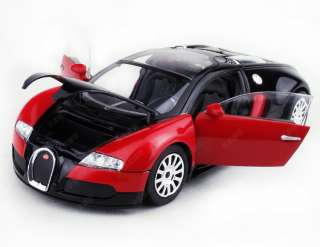 New Bugatti Vayron Limited Edition 124 Alloy Diecast Model Car Red