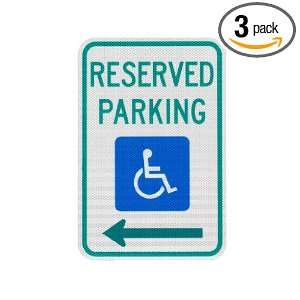 Elderlee, Inc. 9212.78003 Handicapped Parking Sign, Reserved Parking