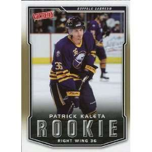 08 Upper Deck Victory Gold #219 Patrick Kaleta RC Sports Collectibles