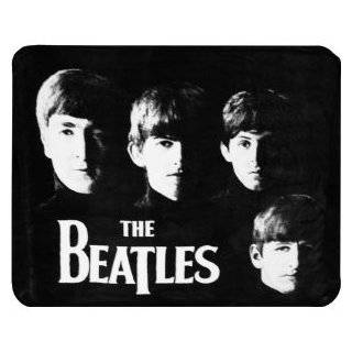 The Beatles Abbey Road Silhouette Fleece Throw Blanket