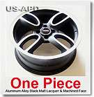 NEW Mini Matt Black Machined Face Wheel 18x7.5 Rim with Central Logo