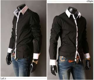 New Mens Casual Luxury Stylish Dress Slim Shirts ST01