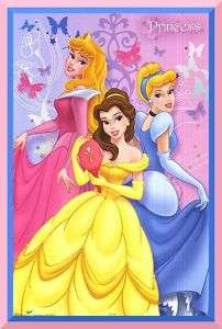 Disney Princess edible cake image topper  1/4 sheet