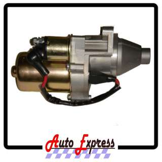 HONDA GX240 STARTER MOTOR FITS 8HP ENGINES STARTER MOTOR WITH SOLENOID