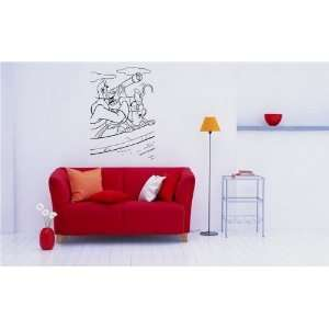 Capitan Hook Wall Mural Vinyl Decal Sticker Kids Room Peter