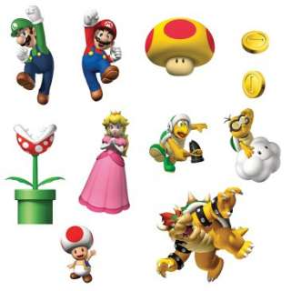 Super Mario Bros. Removable Wall Decorations, 41827