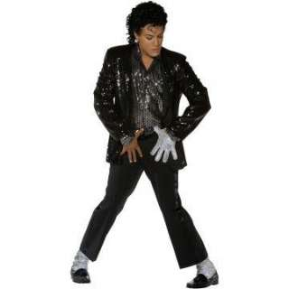 Michael Jackson (Billie Jean Costume) Adult   Includes Jacket, Shirt