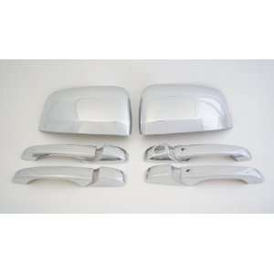 Jeep Grand Cherokee Chrome Set ( Mirror Cover Set and 4 Door Handle
