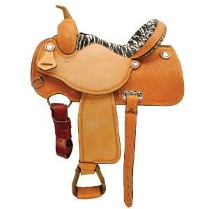 Exotic Champion Barrel Racing Saddle