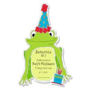 Childrens Birthday Party Invitations   Get Hoppy Party Invitation