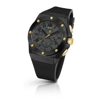 TW 682 CEO Tech Black Rubber Chronograph Dial Watch TW Steel Watches