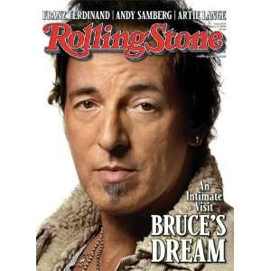 Bruce Springsteen, 2009 Rolling Stone Cover Poster by