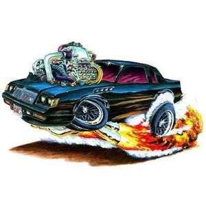 24 *Firebreather* 1987 Buick Grand National GNX Turbo cartoon