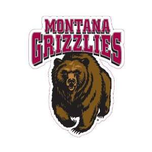 Montana Grizzlies Team Auto Window Decal (12 x 10  inch