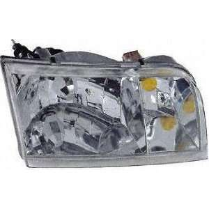 98 02 FORD CROWN VICTORIA HEADLIGHT RH (PASSENGER SIDE), ASSY. (1998