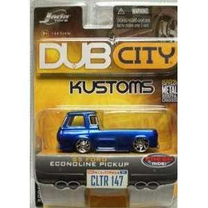 Blue 1965 Ford Econoline Pickup 164 Scale Die Cast Car Toys & Games