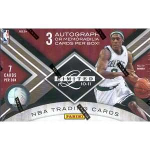 Limited NBA Basketball Sports Trading Cards Box