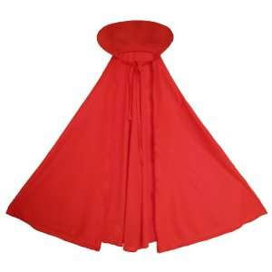 Vampire Cape ~ Halloween Children Red Cape (STC11524) Toys & Games