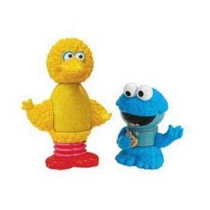 Play Town Sesame Street Figures   Big Bird & Cookie