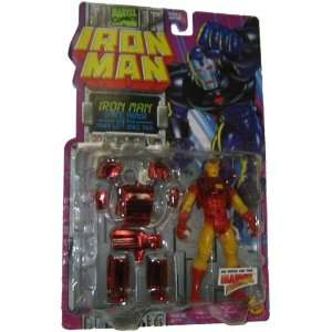 Marvel Comics 1995 Iron Man 5 Inch Action Figure   Iron