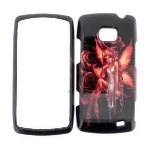 LG ALLY VS740 HARD PLASTIC COVER CASE PROTECTOR PERFECT