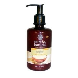 Pure & Natural Liquid Hand Soap, Soothing Oatmeal & Shea Butter, Hypo