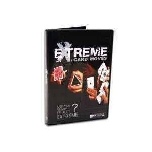 Extreme Card Moves   Instructional Magic Trick DVD Toys
