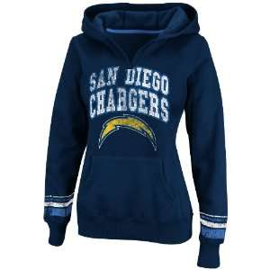 NFL Womens San Diego Chargers Preseason Favorite II Athletic Navy
