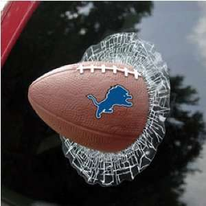 Detroit Lions NFL Shatter Ball Window Decal by Rico Industries