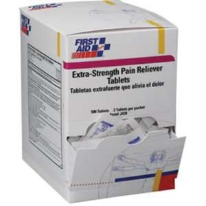 Extra Strength Pain Reliever Tablets (50 Packs of 2