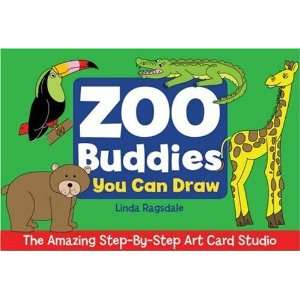 The Amazing Step By Step Art Card Studio Zoo Buddies You