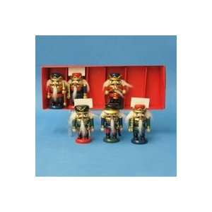 of 48 Wooden Nutcracker Christmas Place Card Holders
