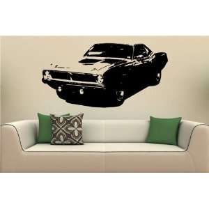 Vinyl Decal Stickers Car Plymouth Barracuda 1970 S2085